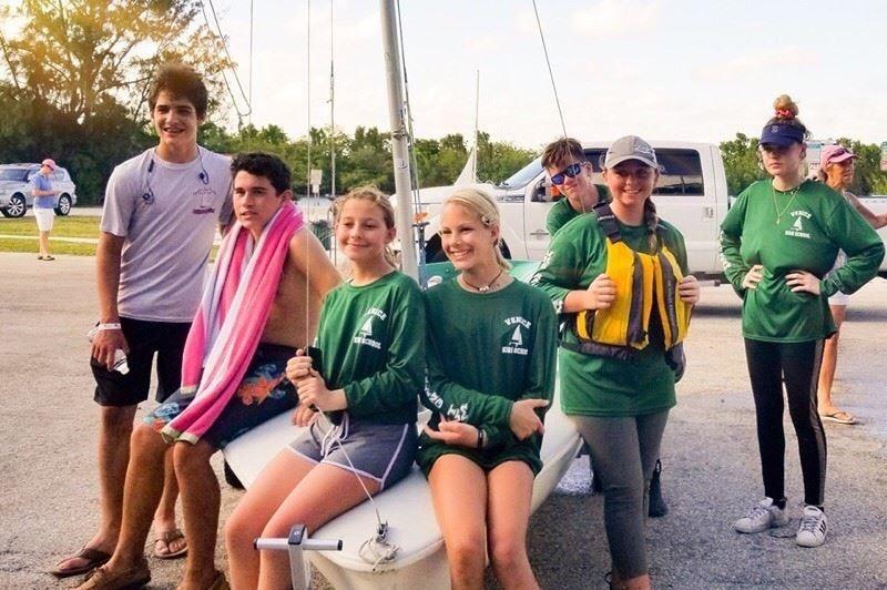 Venice Youth Boating Association - School Year Race Teams